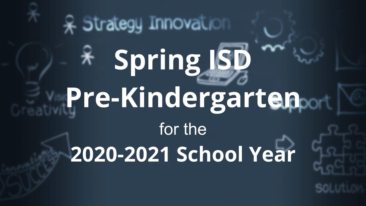 Early Childhood Programs / Prekindergarten Program
