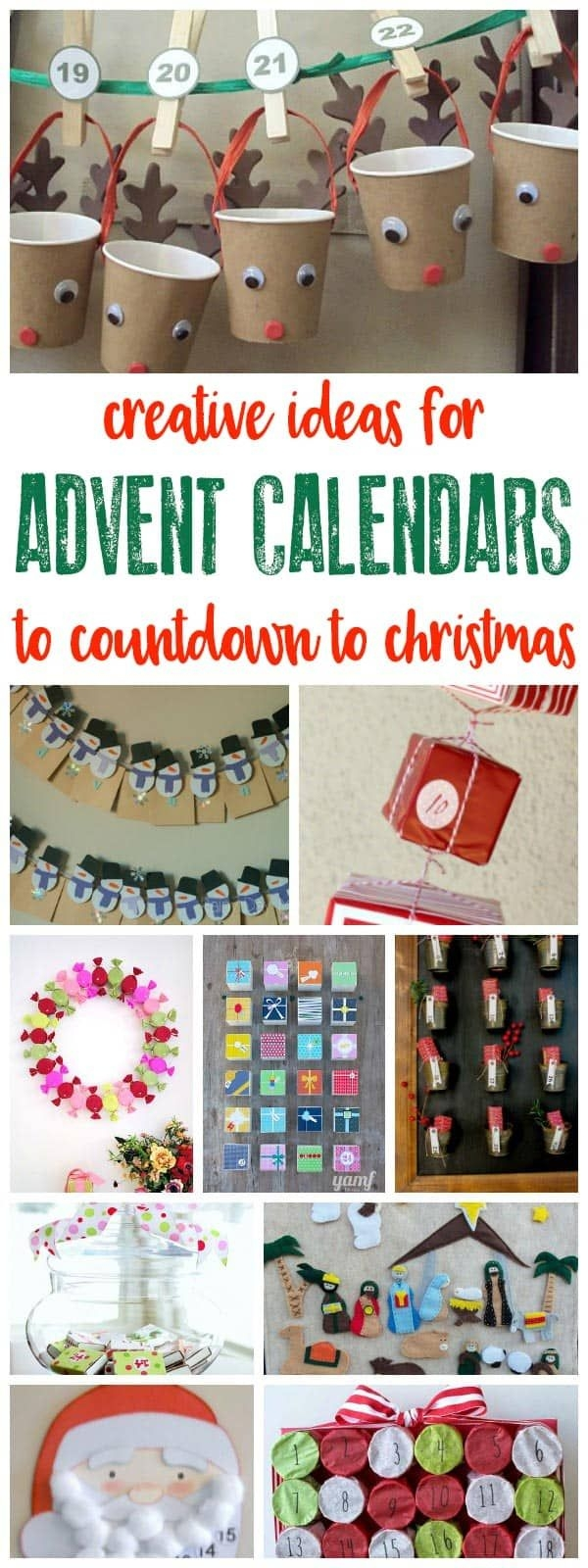 Easy And Simple Advent Calendars To Make This Year
