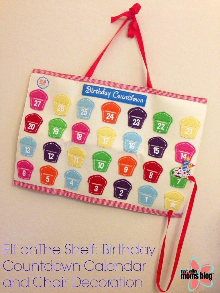 Elf On The Shelf: A Birthday Tradition Countdown Calendar