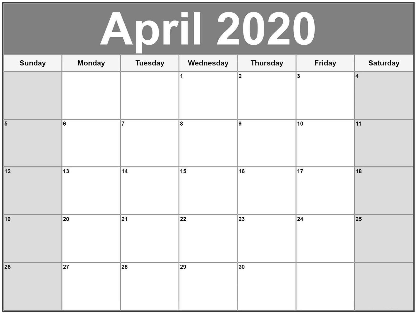 Exceptional Free Very Large Squares Blank Printable Calendar