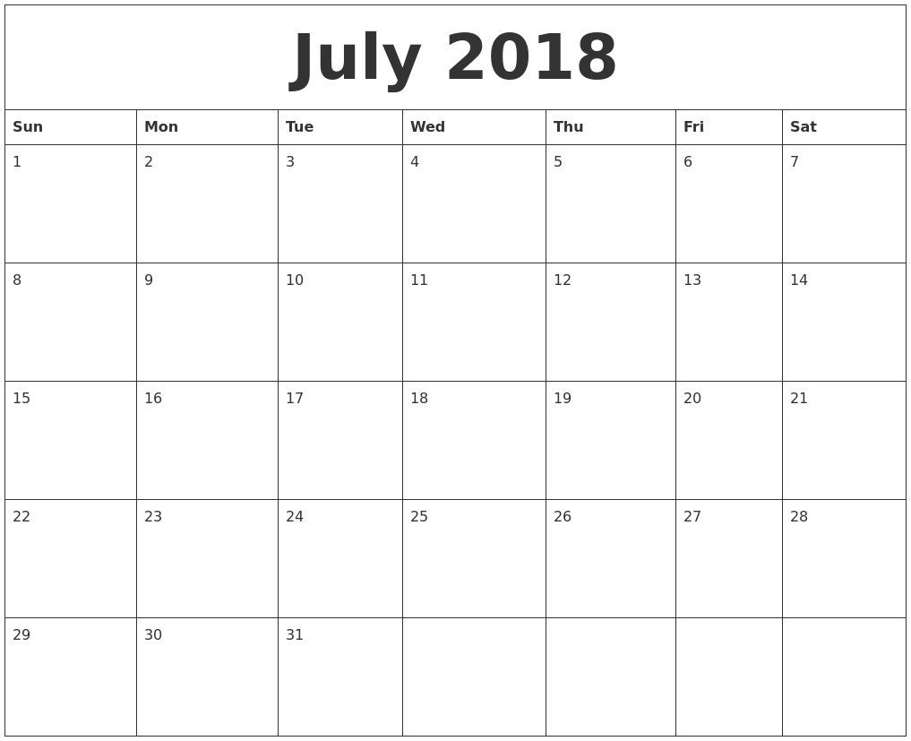 Extraordinary Blank Calendar Large Squares In 2020
