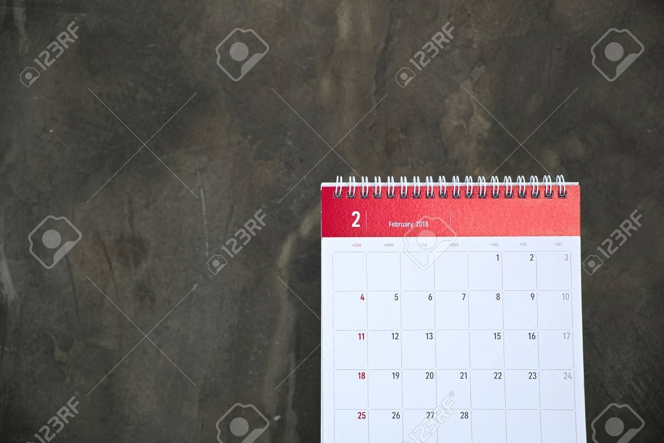 February Calendar With Only 28 Days And No Day 14th, Which Is