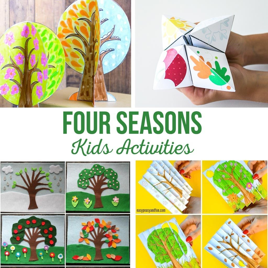 Four Seasons Activities The Crafting Chicks