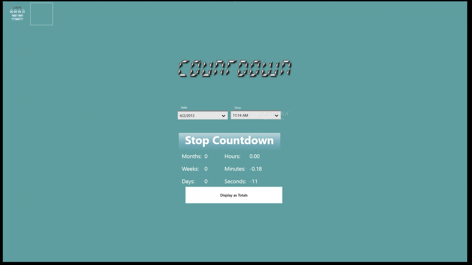 Free Download Countdown Timer 600 X 314 Jpeg 53kb Minus