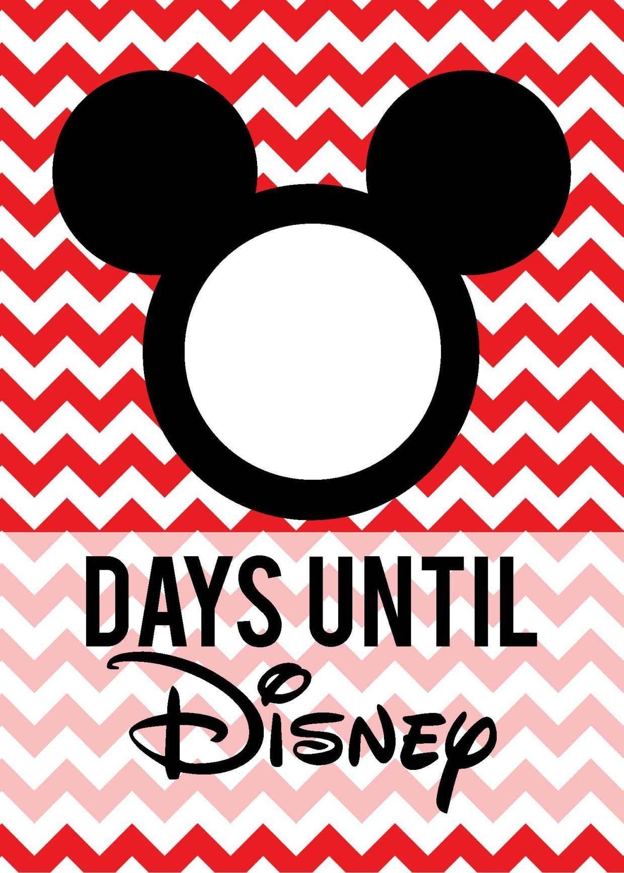Free Download: Countdown To Disney   Disney Countdown