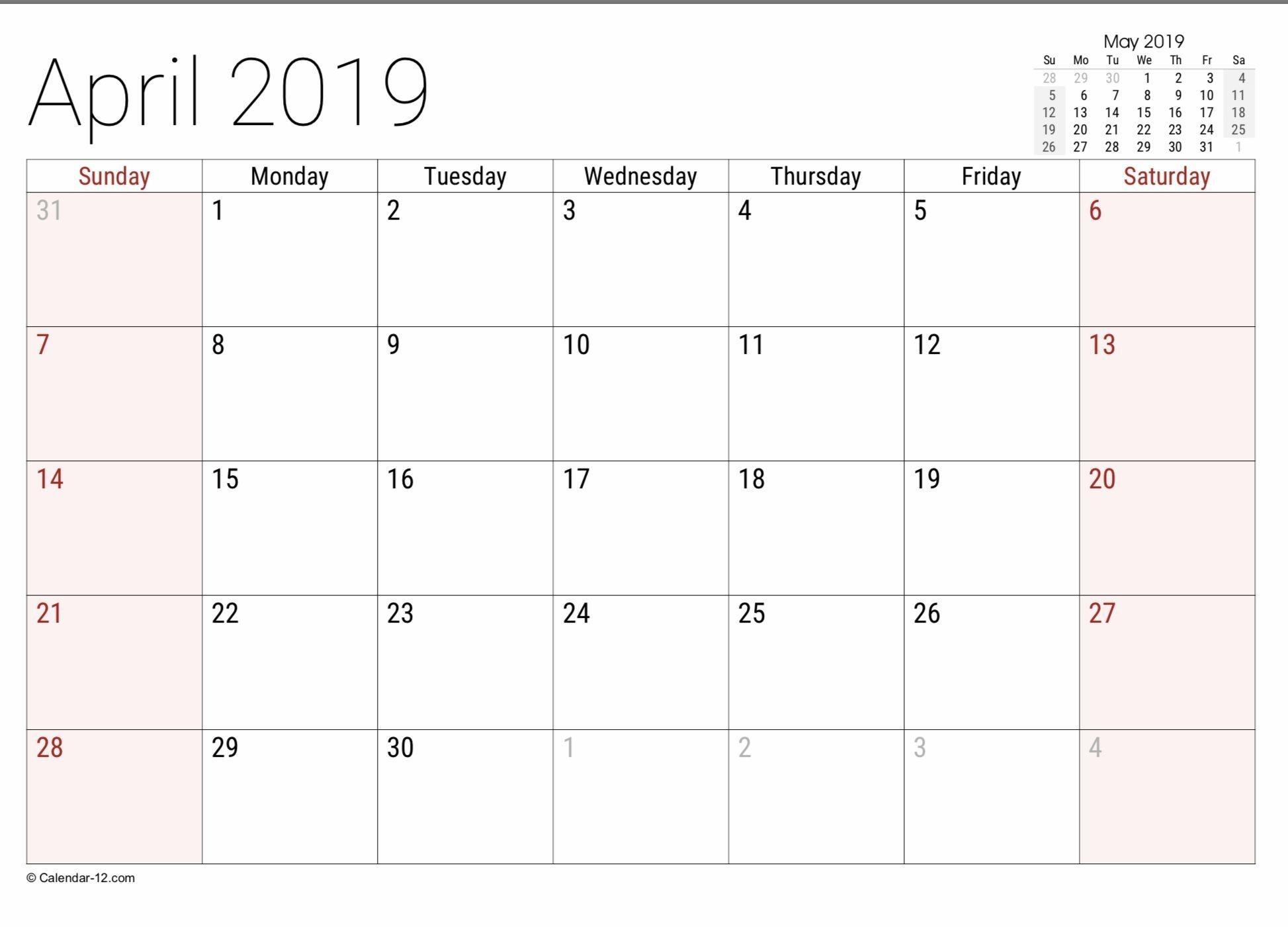 Free Free 8 1/211 Blank Calendar In 2020 | Free
