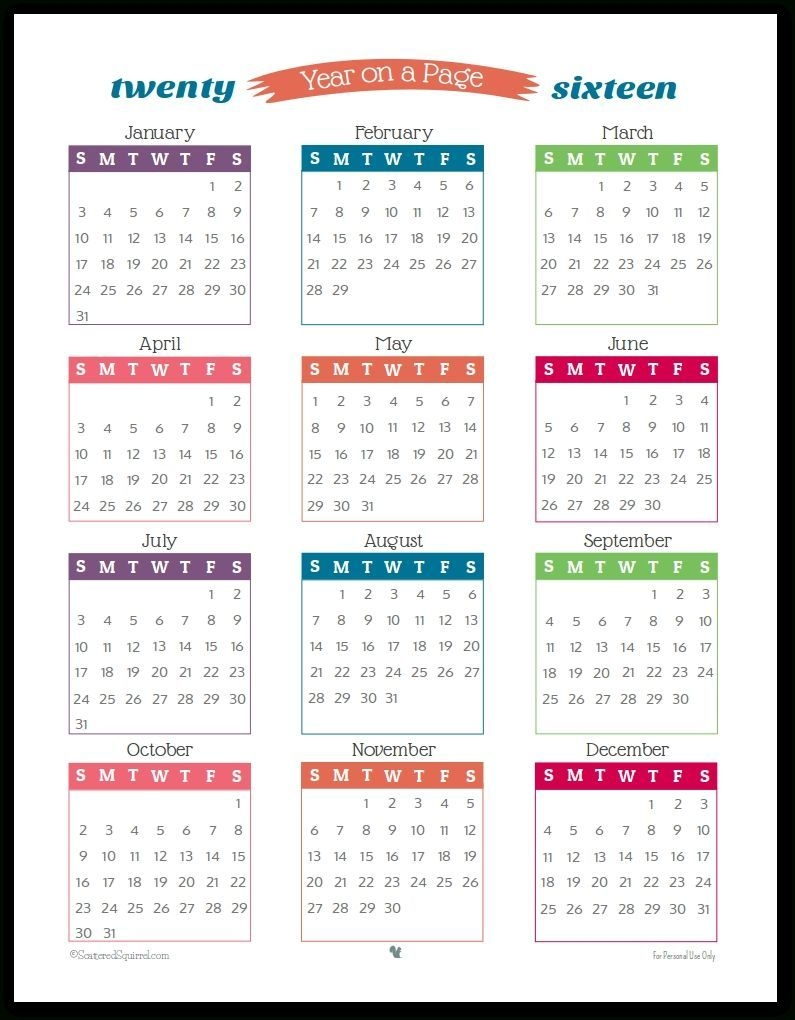 free printable calendars 5 1/2 x 8 1/2 in 2020 | calendar