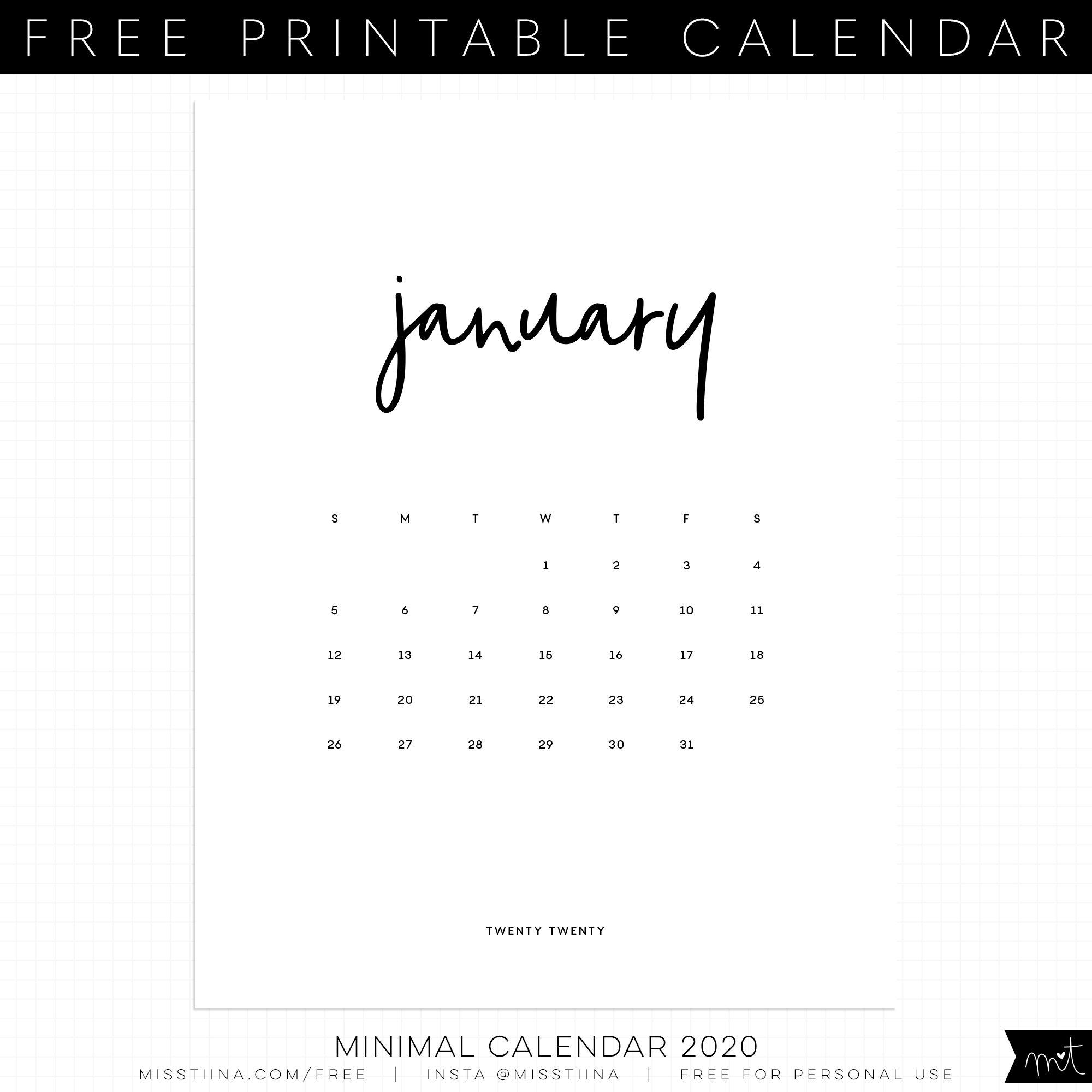 Free Printables | Misstiina