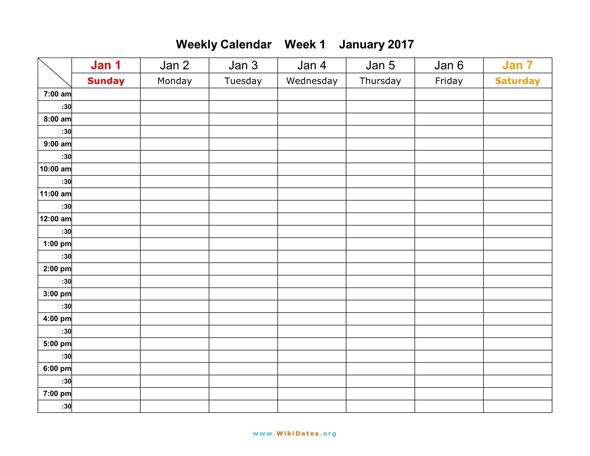 free weekly schedule template for work calendar 2 excel free