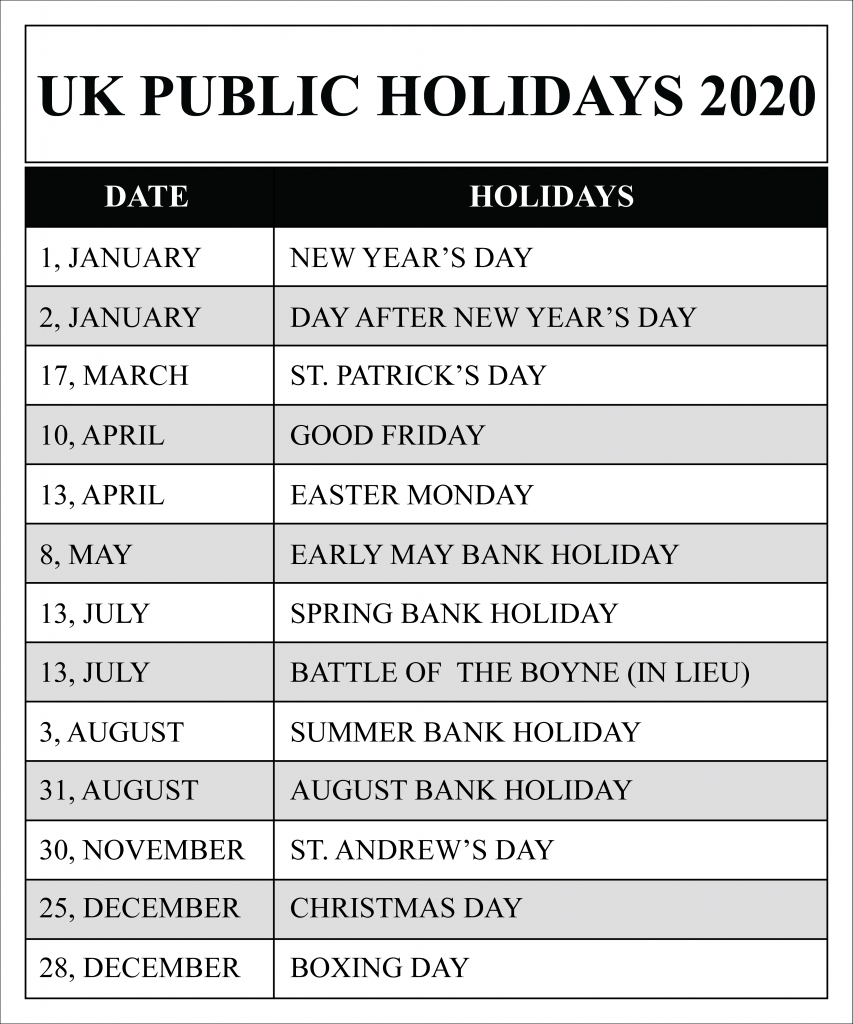 full list of march holidays 2020 calendar with festival