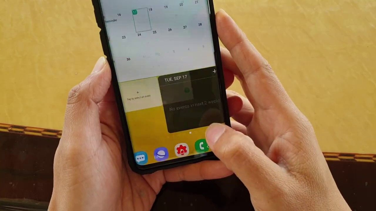 Galaxy S10 / S10 : How To Show / Hide Calendar Events From Google Account (holidays)