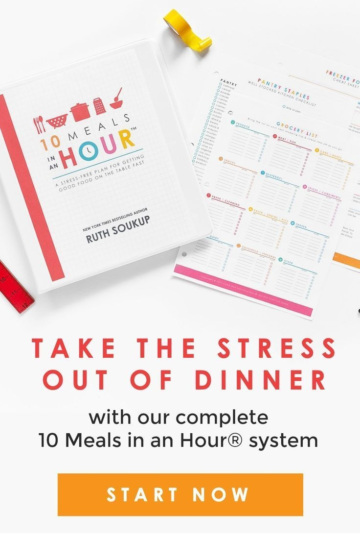 get dinner on the table every single night in less than 30