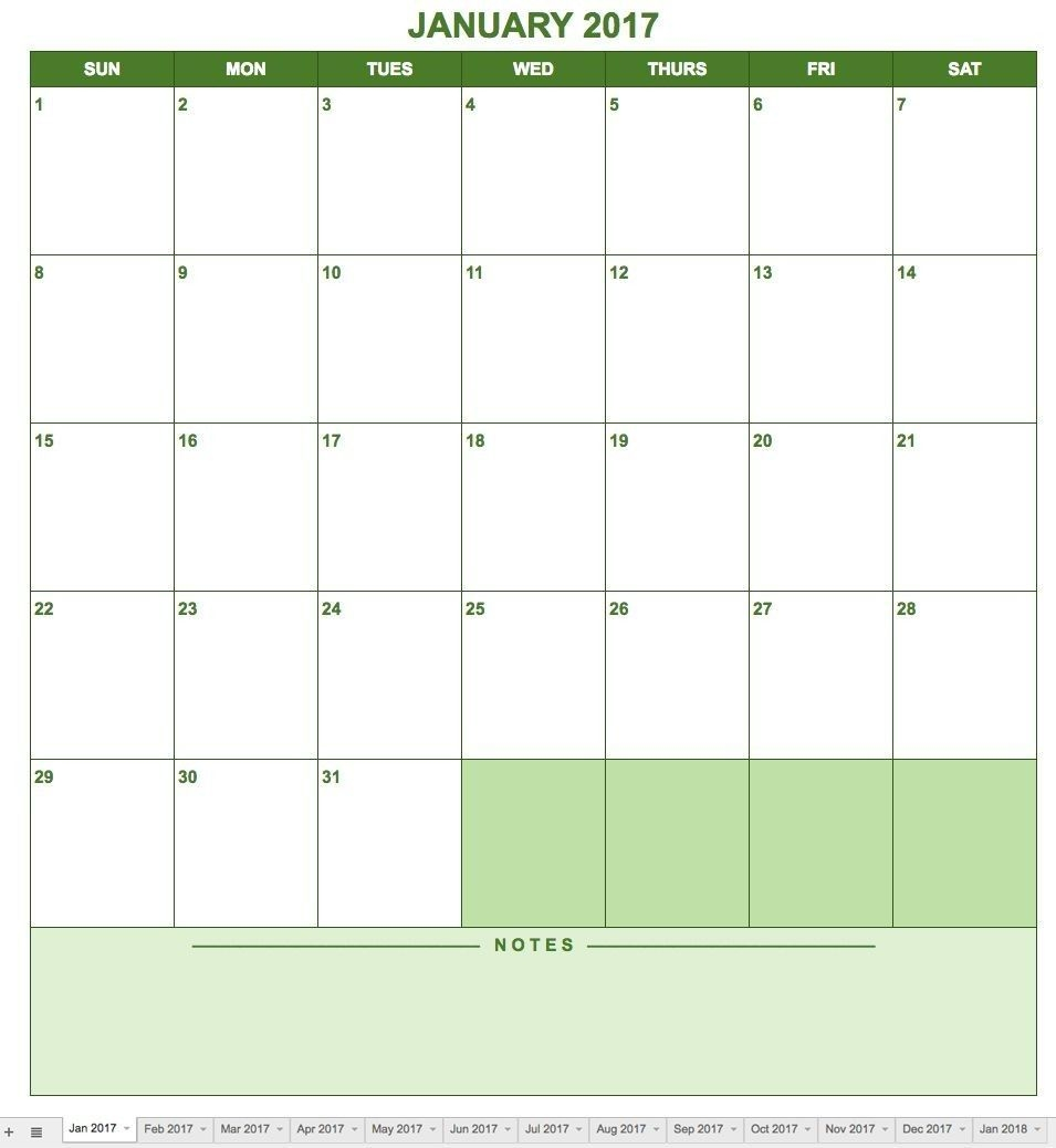 google sheets templates monthly calendar 1 moments to
