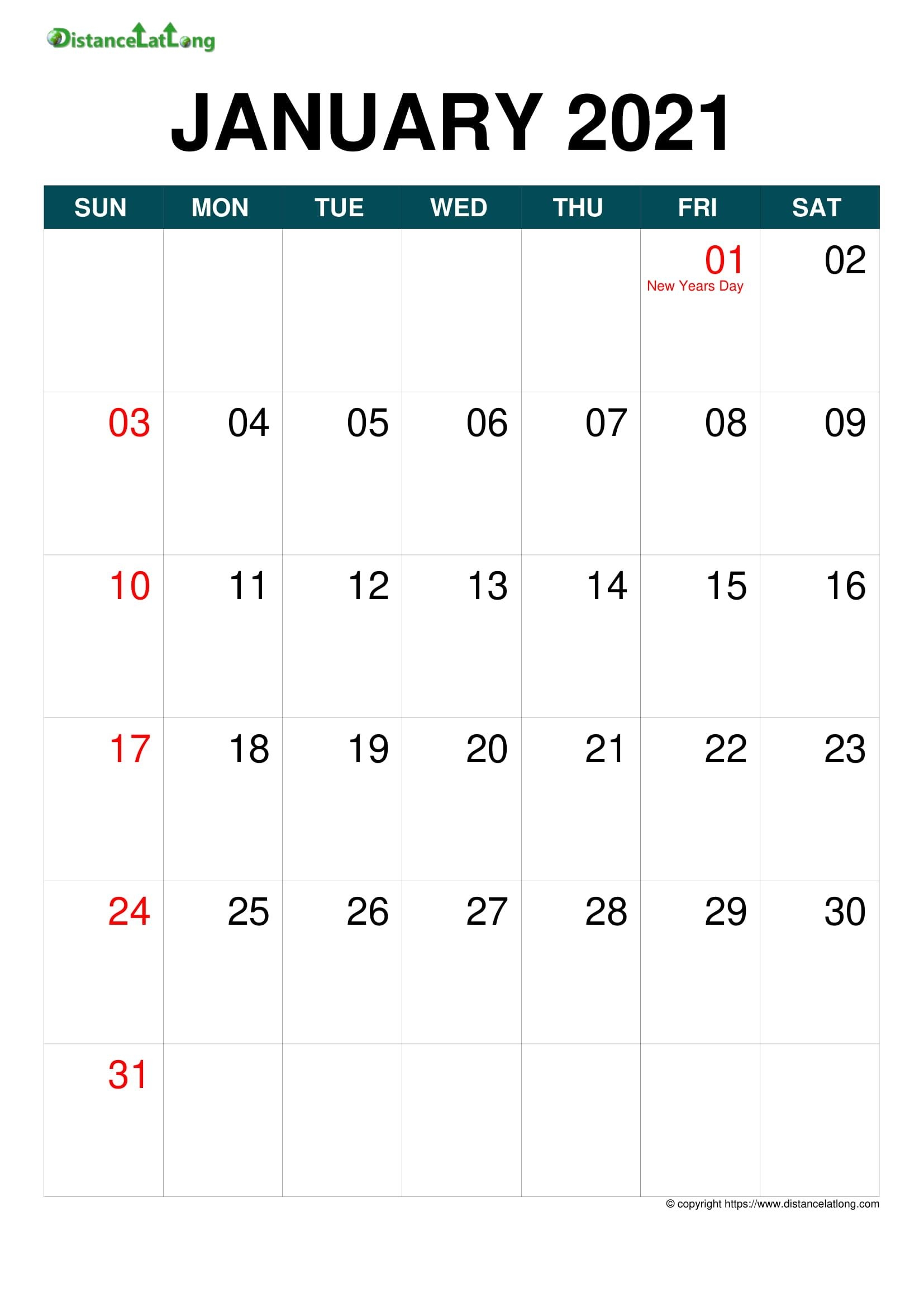 Holiday Year 2020 2021 Calendar Templates, Free Printable