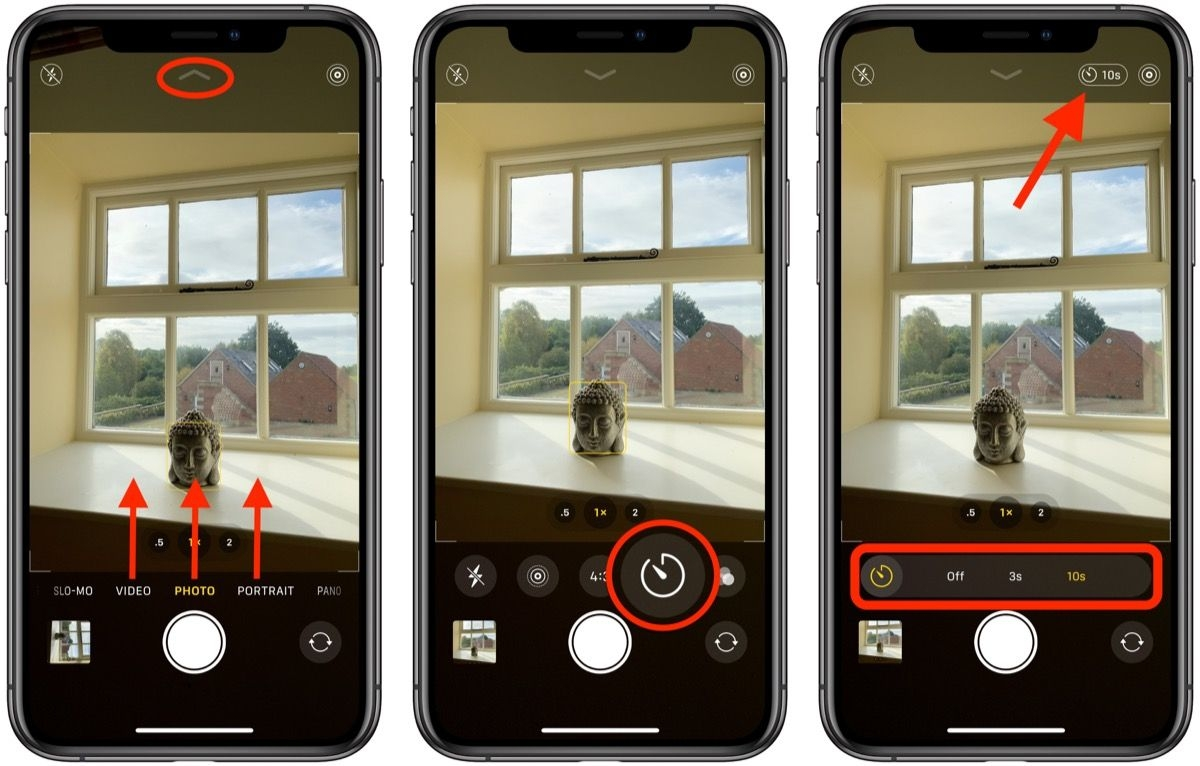 How To Access The Camera Timer On Iphone 11 And Iphone 11