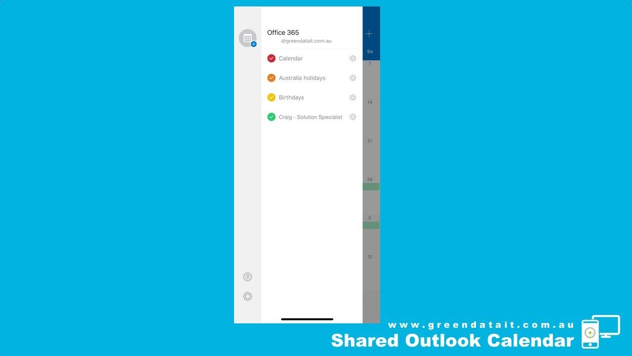 How To Add A Shared Calendar In The Outlook App For Iphone