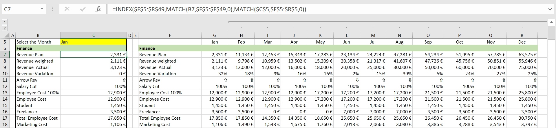 how to create an app from a monthly excel report – open as