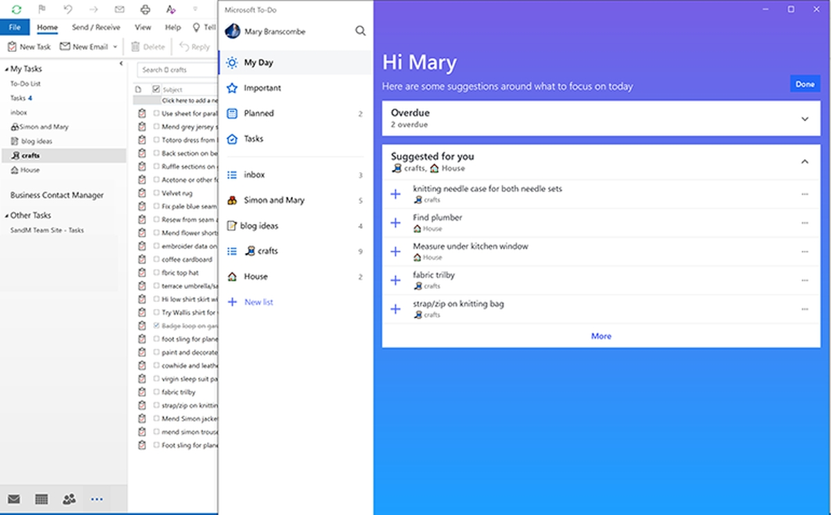 how to do is integrating with more and more of the microsoft