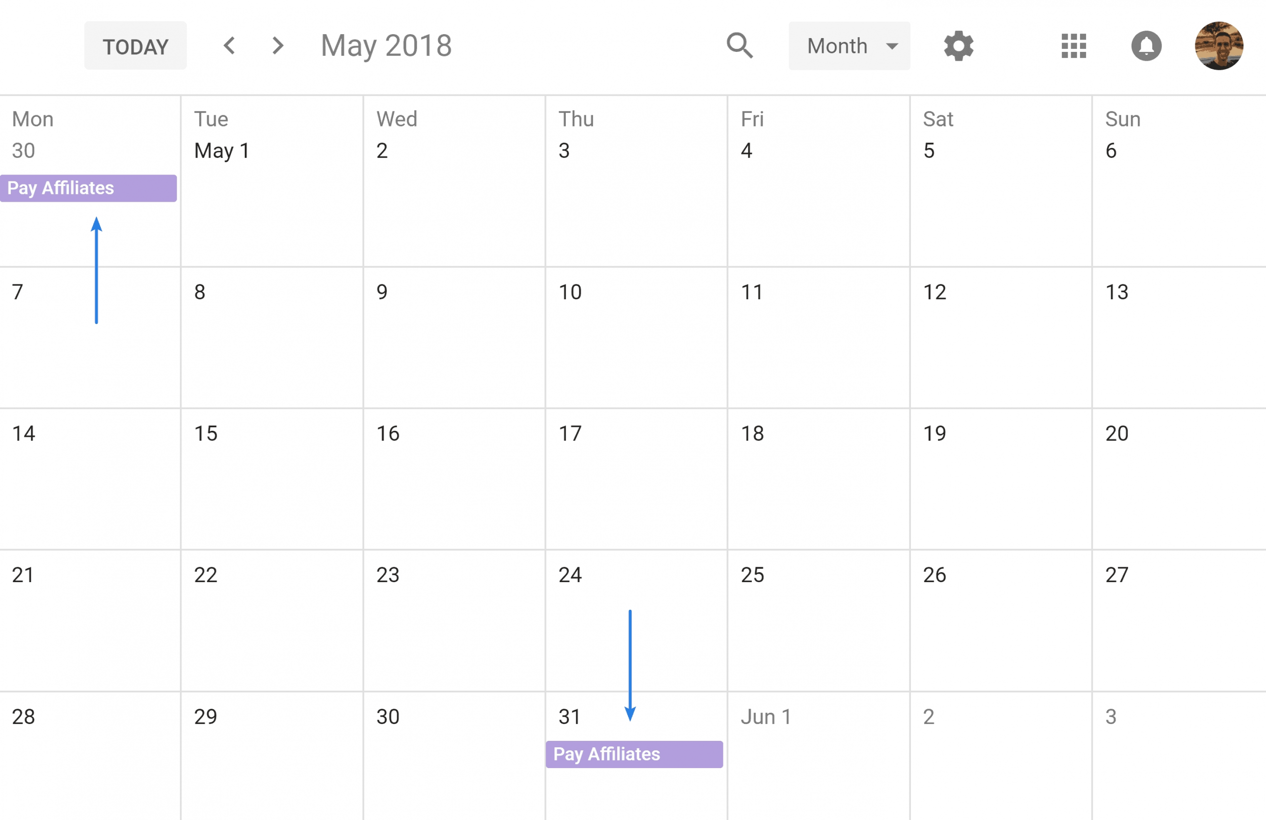 How To Set Up Repeating Event In Google Calendar On Last Day