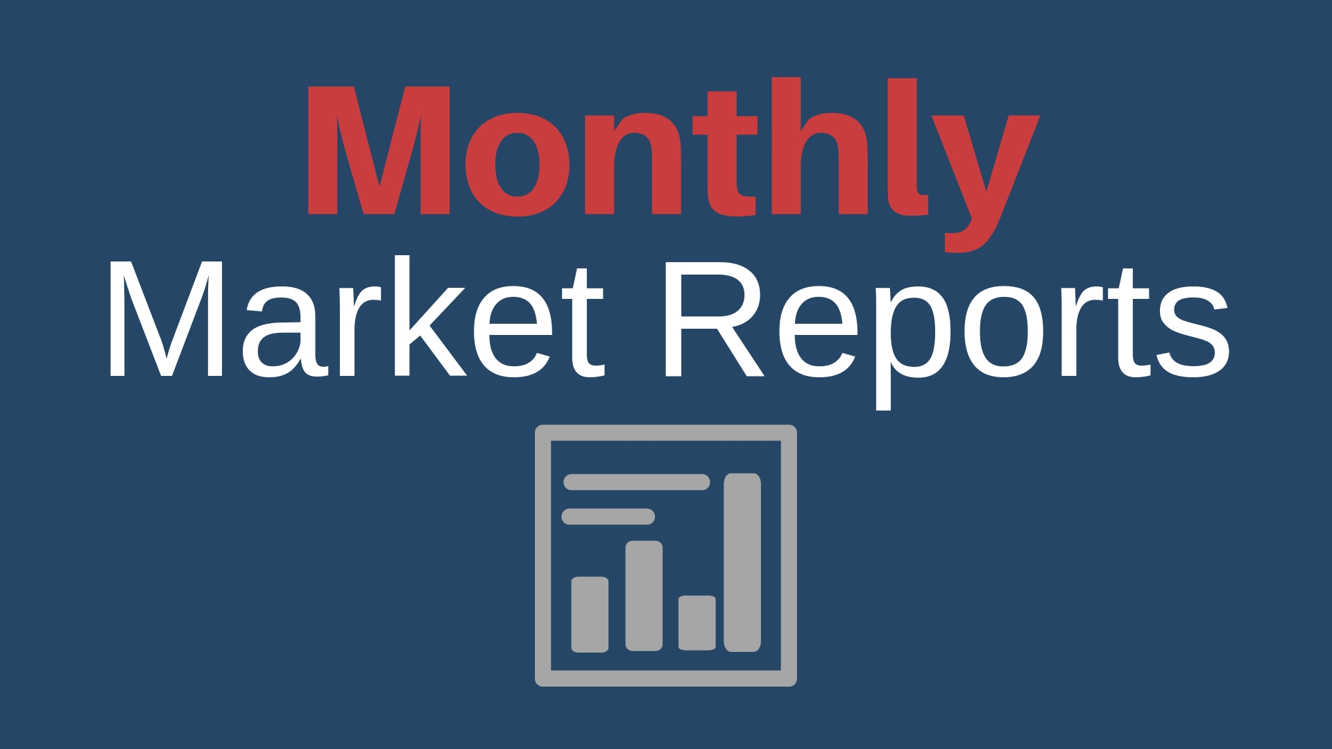 how to sign up for monthly market reports