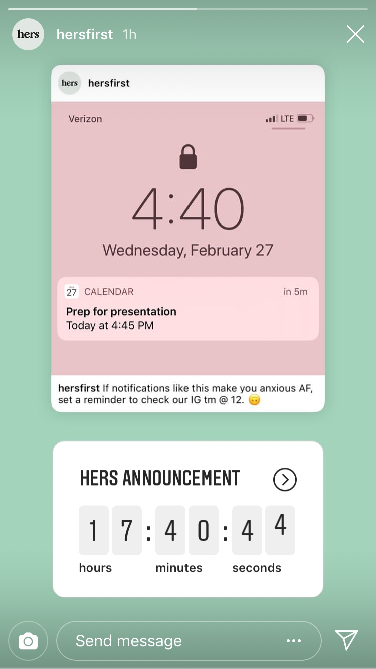 How To Use The Countdown Sticker For Instagram Stories