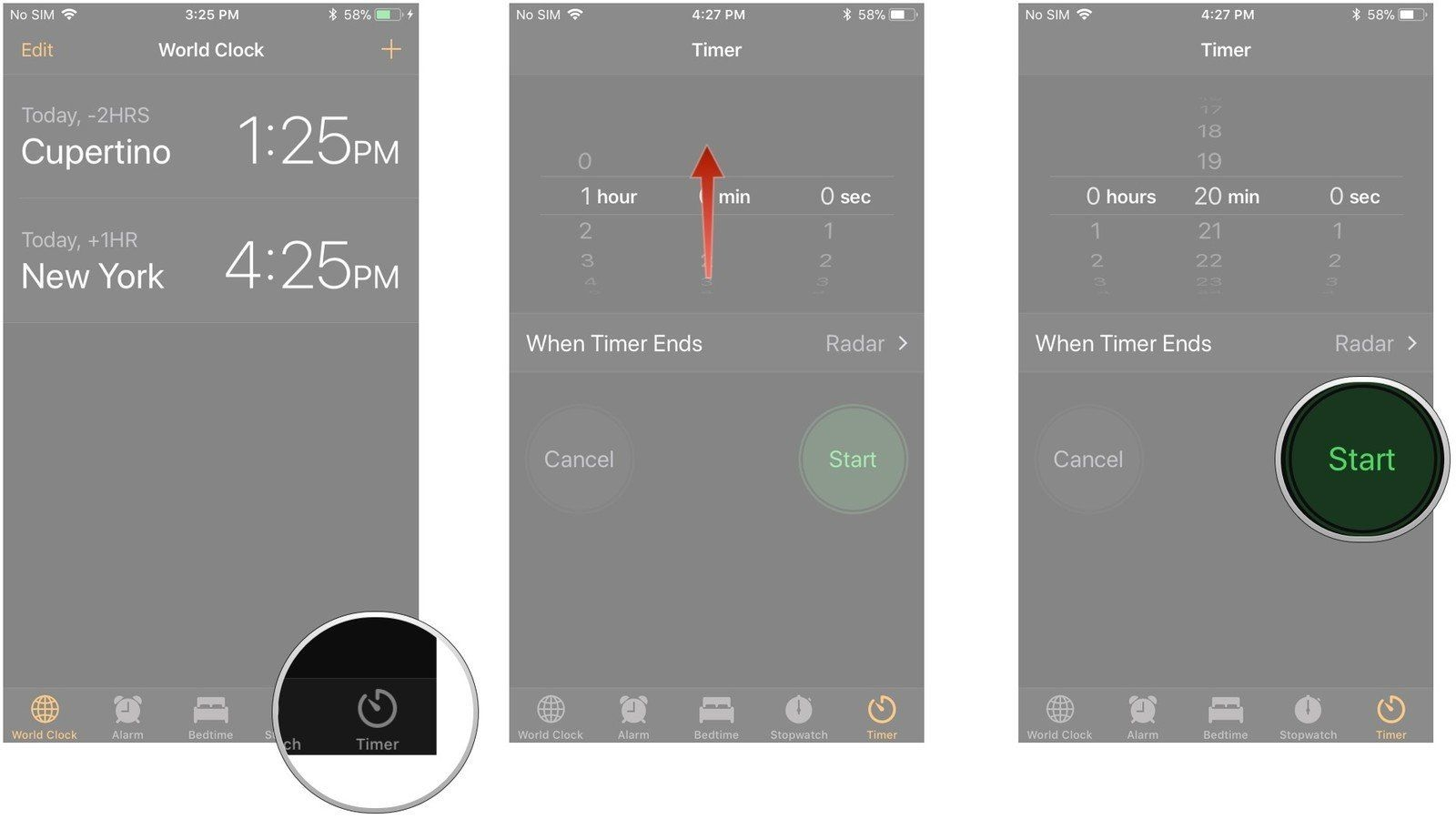 how to use the timer in the clock app on iphone and ipad | imore