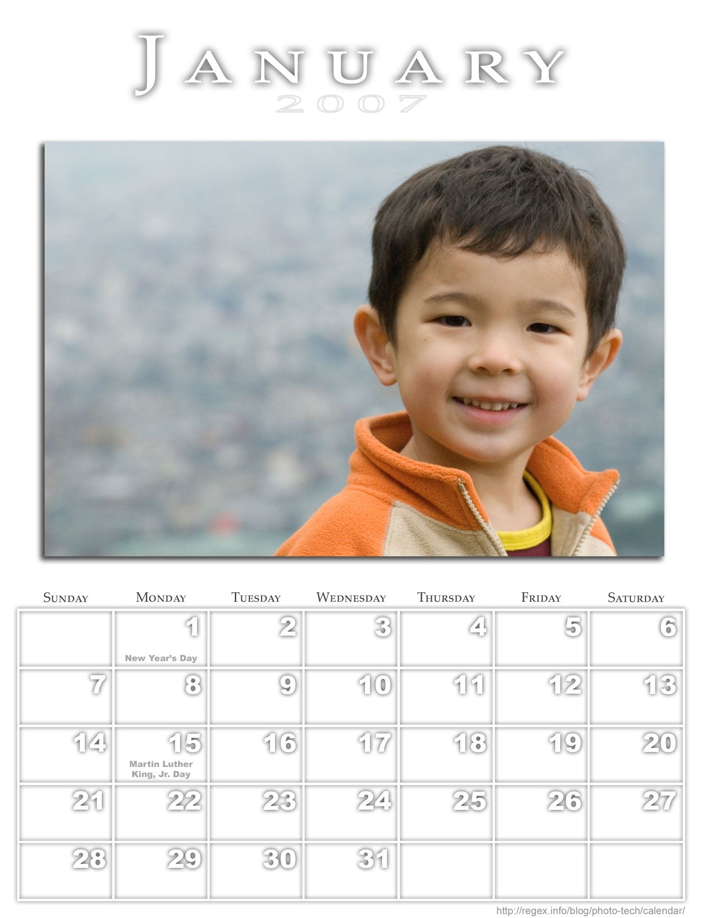 Jeffrey Friedl's Blog » Jeffrey's Photoshop Calendar