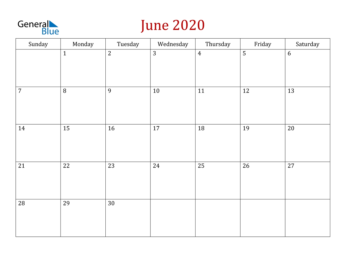 june 2020 calendar pdf word excel