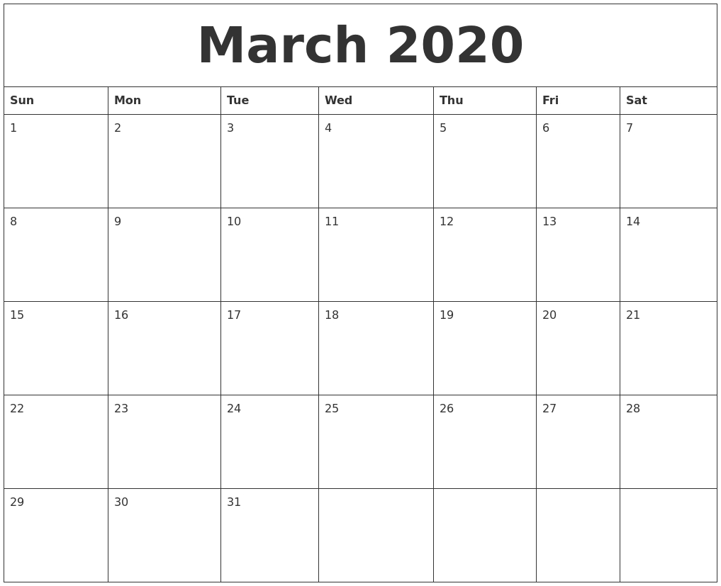 June 2020 Free Downloadable Calendar