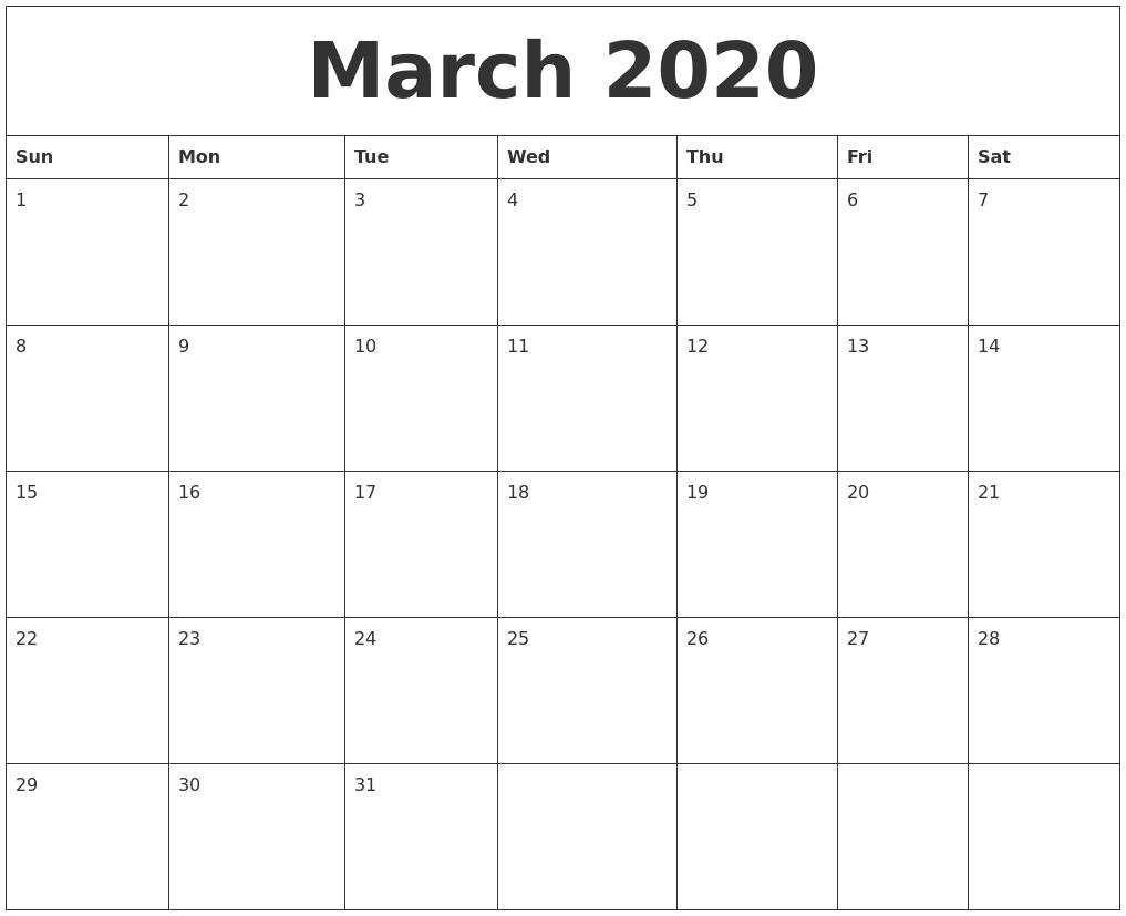 june 2020 free downloadable calendar