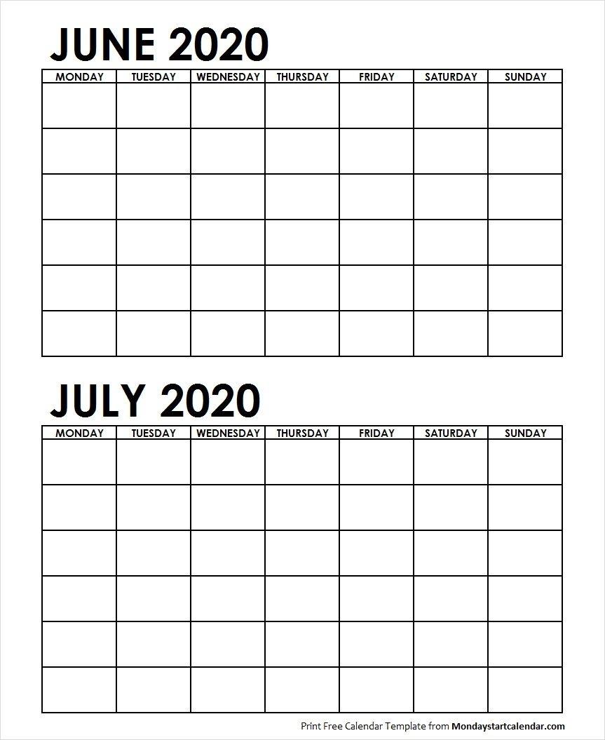 June Calendar Archives Page 7 Of 10 Monday Start Calendar
