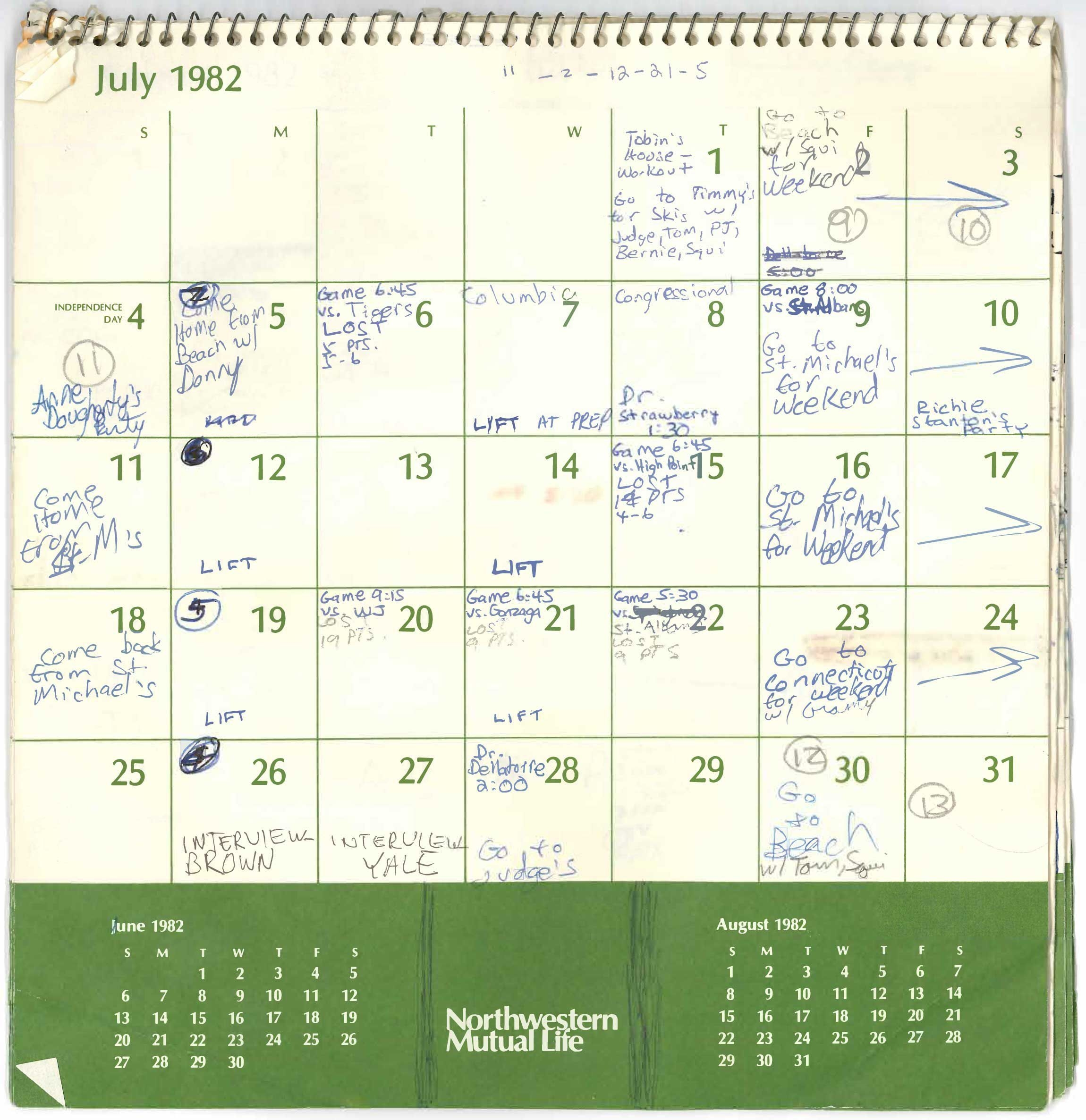 kavanaugh is pressed on the key july 1 entry in his calendar