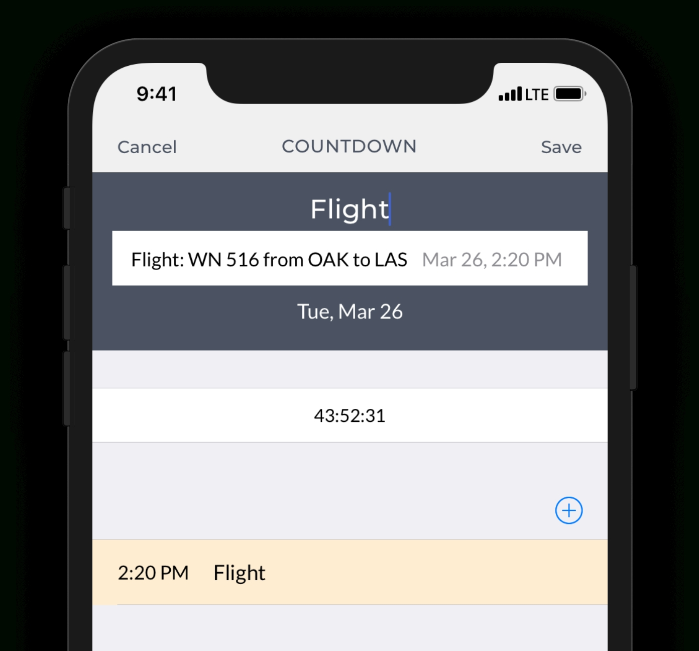 Little Countdown App Integrates With Ios Calendar Little