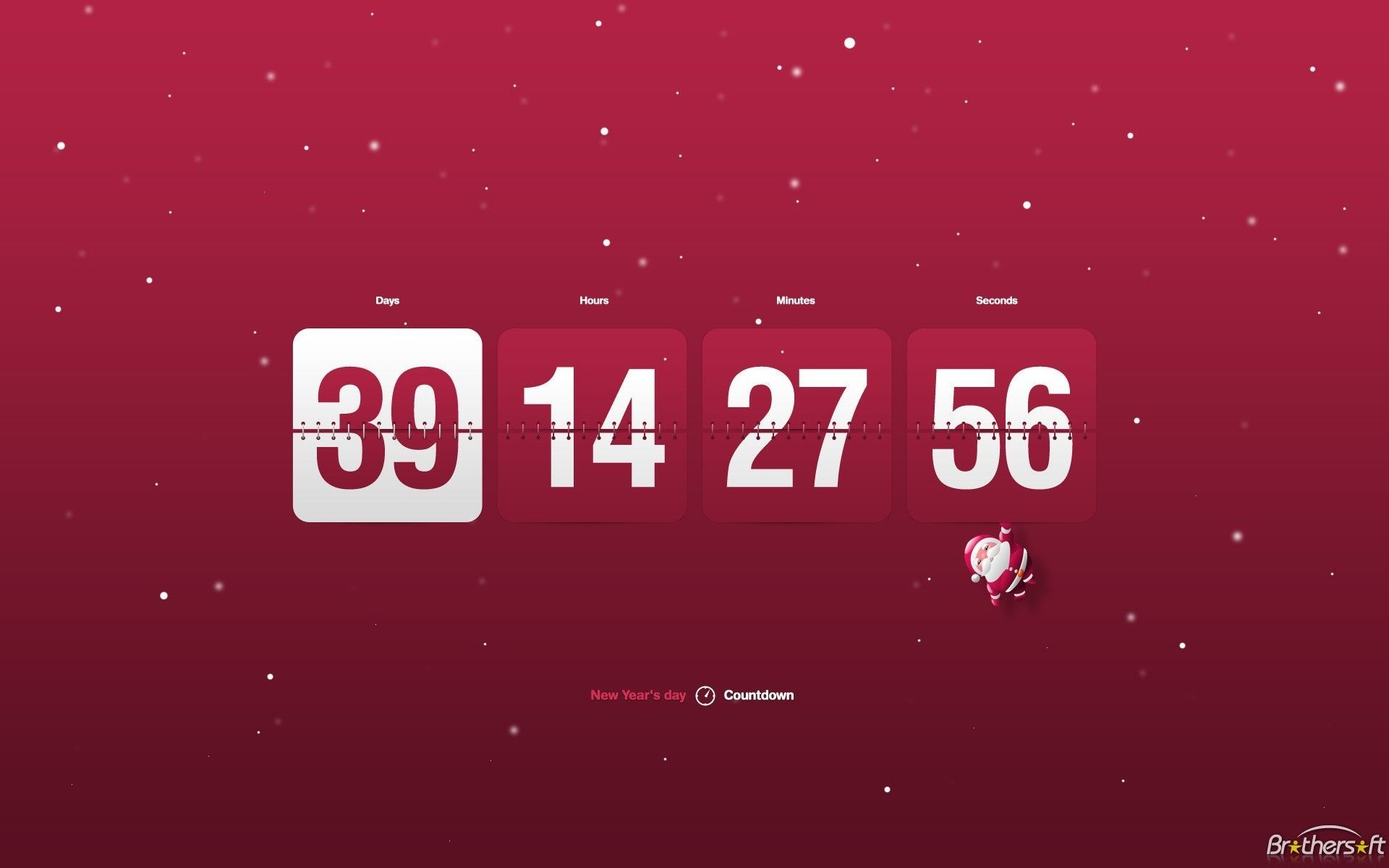 Lovely Retirement Countdown Clock Screensaver