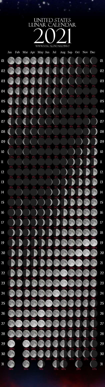 Year 2021 Calendar With Lunar - Example Calendar Printable