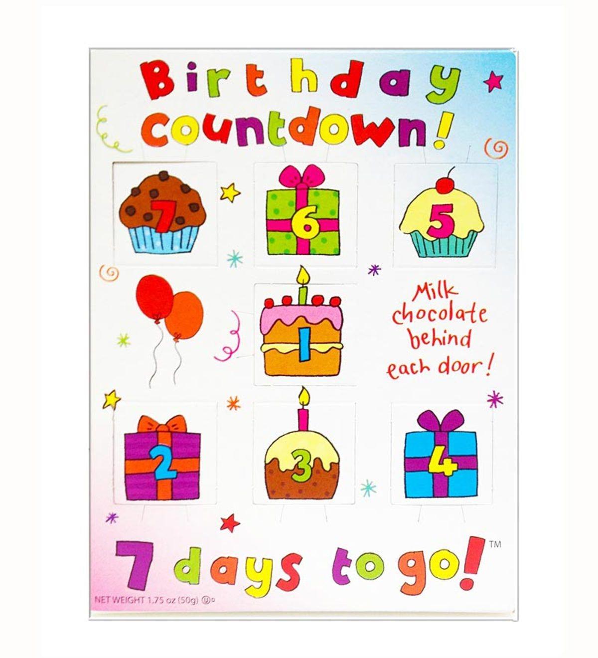 Madelaine Chocolates Birthday Countdown Calendar | Hearthsong