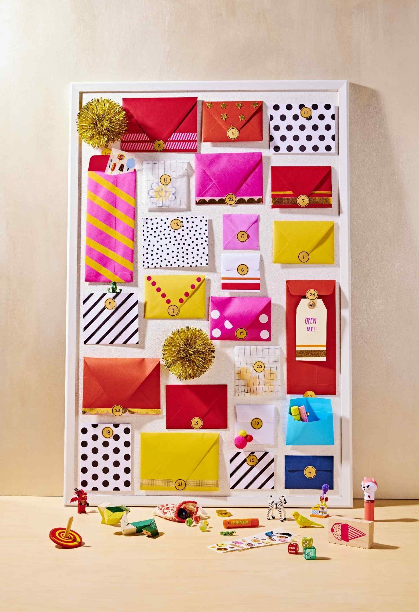 Make Your Own Advent Calendar To Countdown The Days 'til