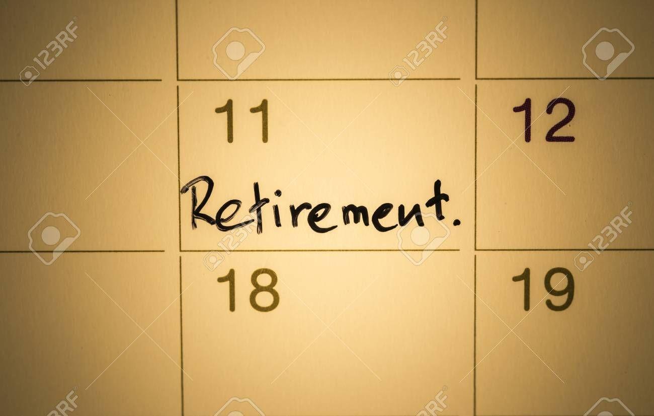 mark on the calendar retirement