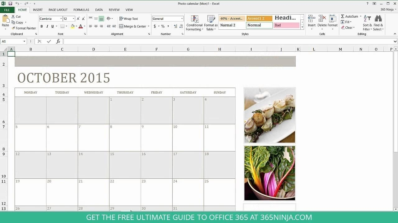 Monthly Calendar I Can Type In In 2020 | Monthly Calendar