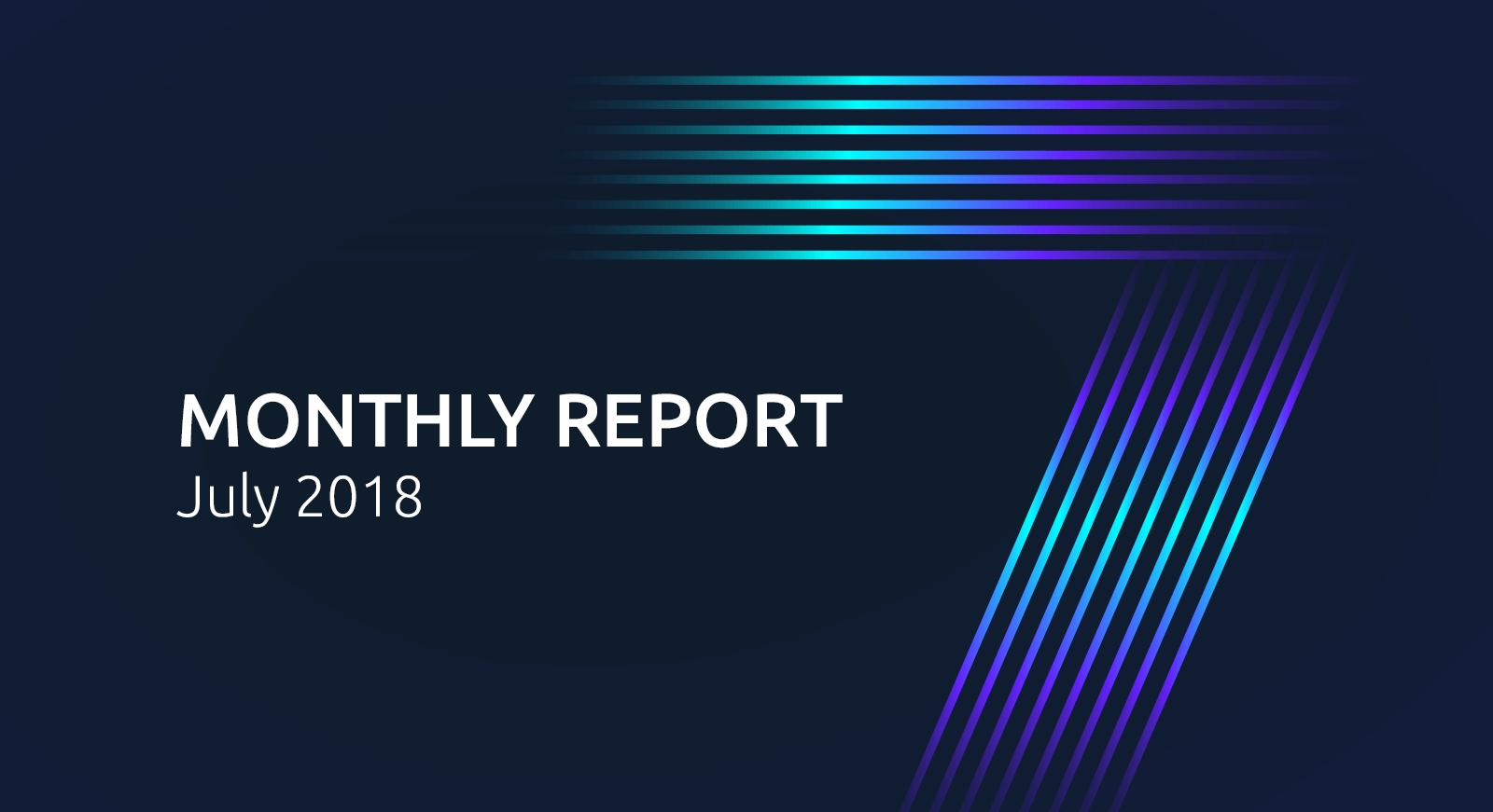 monthly report: july 2018