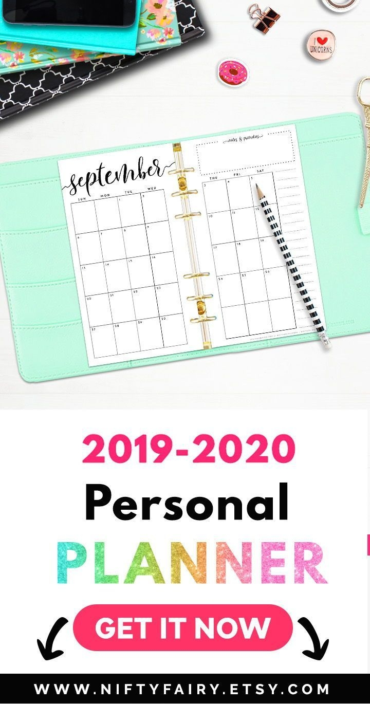 Personal Dividers Lv Mm Agenda Insert 2019 Personal Planner