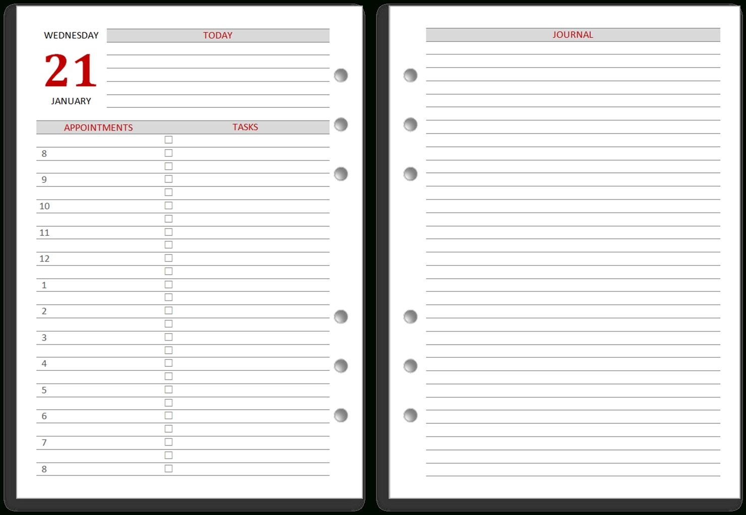 philofaxy: diaries 2020
