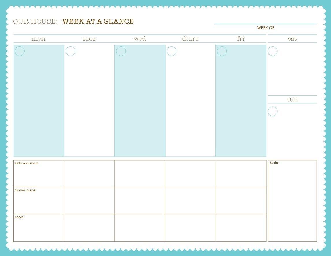 pinpartise { lisa grim } on printables | weekly calendar