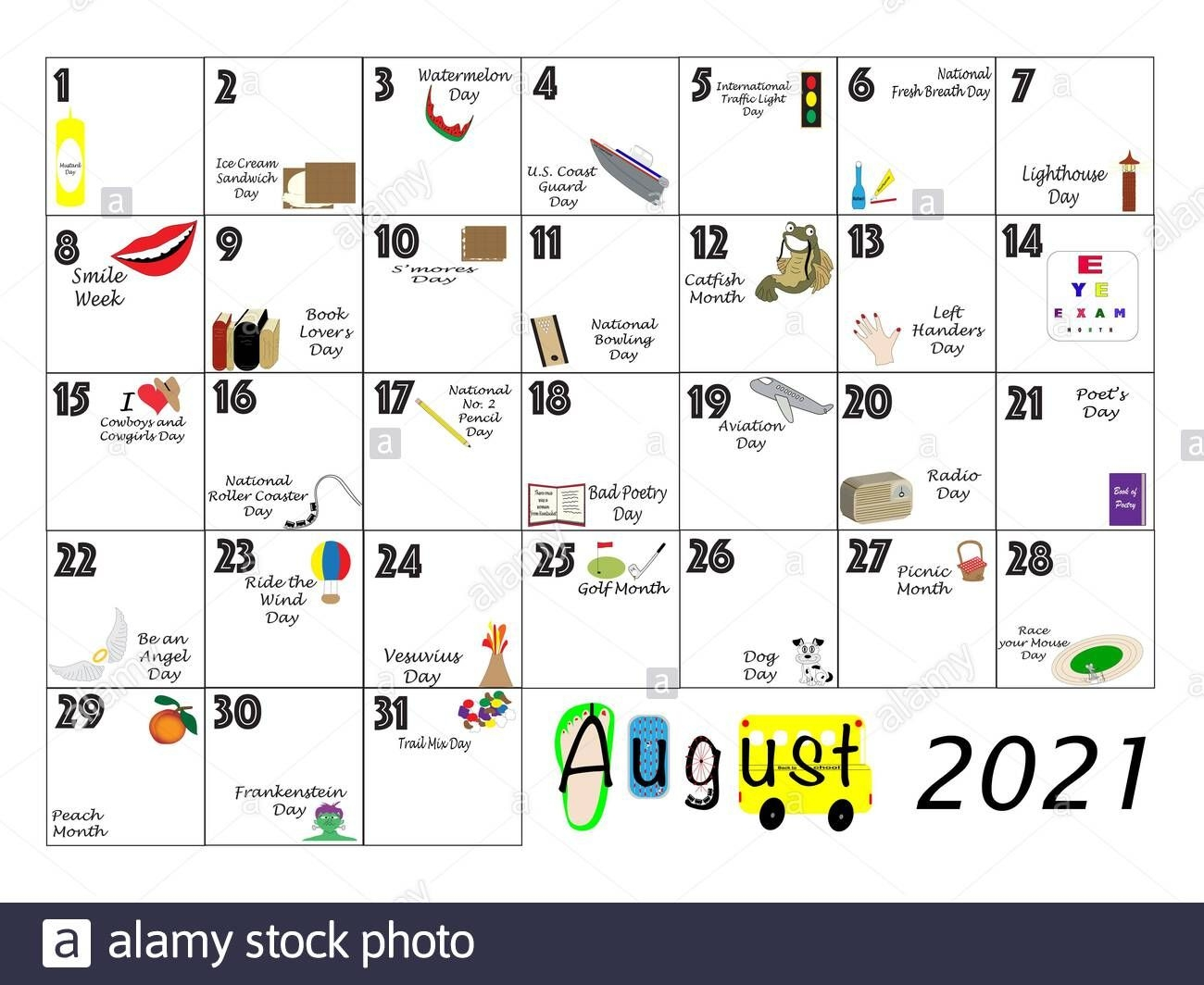 Plane And Calendar High Resolution Stock Photography And