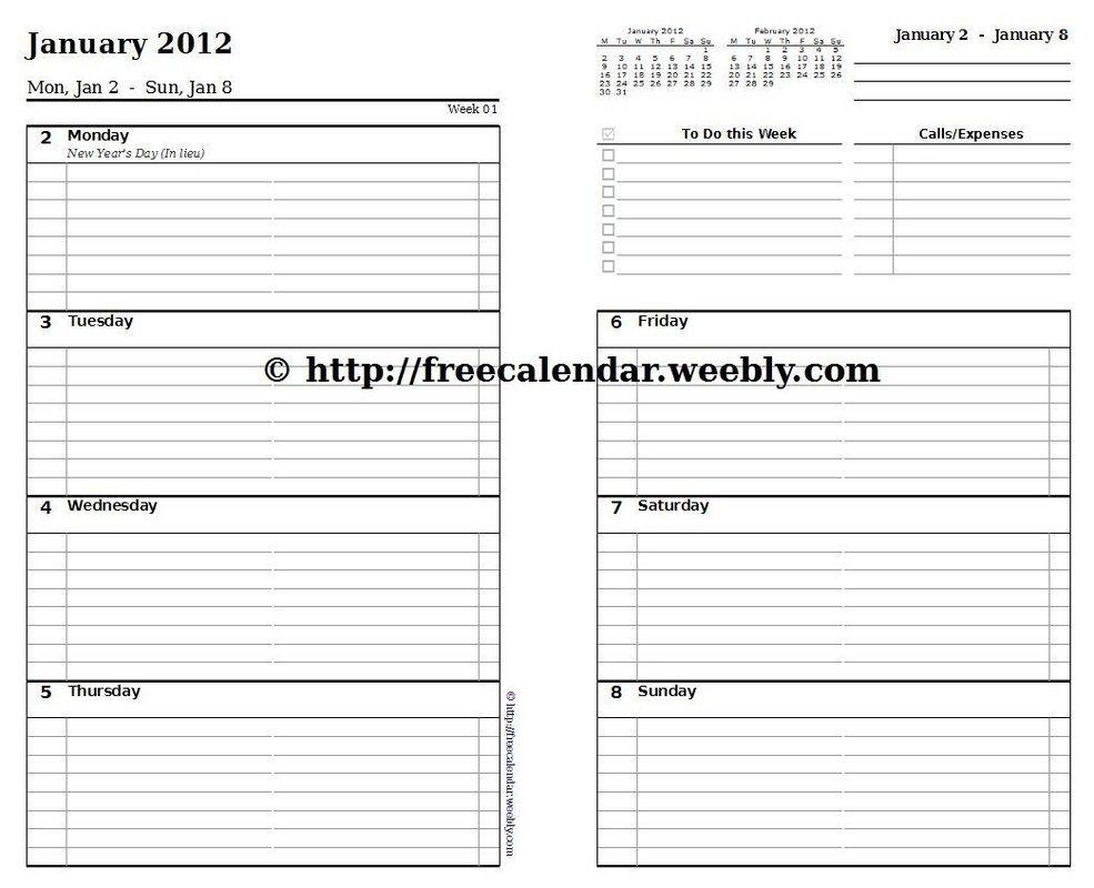 printable calendar 2012 free printable calendars