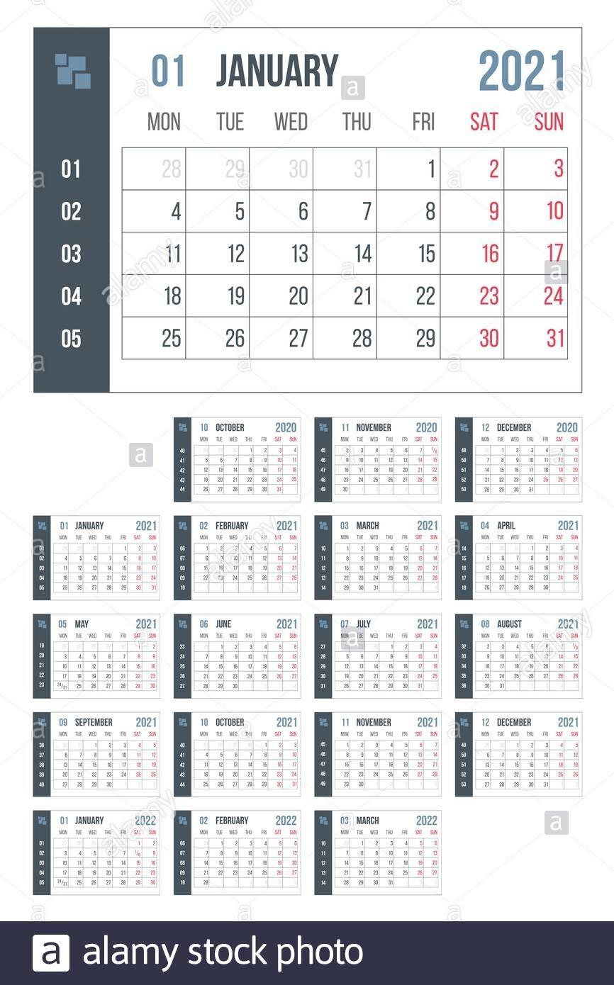Printable Calendar High Resolution Stock Photography And