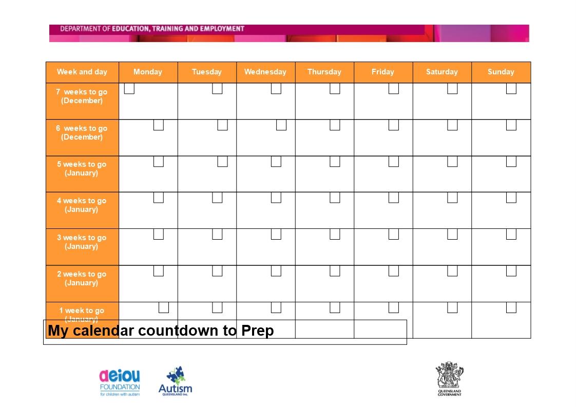 printable countdown calendar how to create a printable