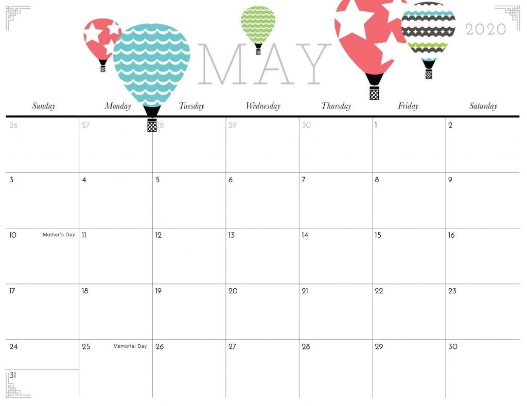 printable may 2020 calendar notes excel with holidays web