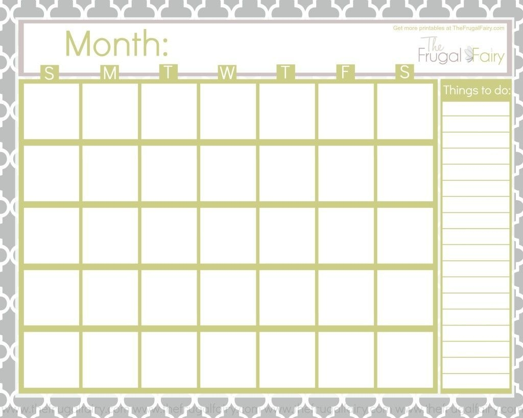 Printables Archives The Frugal Fairy | Printable Blank