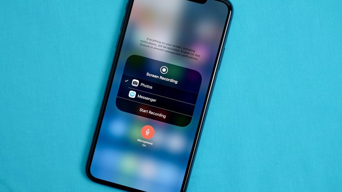 quickly record a video of your iphone or ipad's screen with